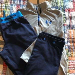 Boys Under Armor Set